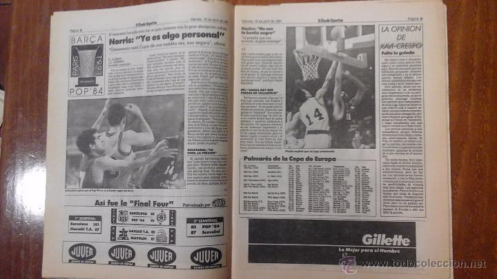 Coleccionismo deportivo: FINAL FOUR BASKET AÑO 1991.BARCELONA - Foto 6 - 54256442