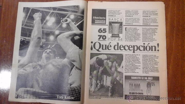 Coleccionismo deportivo: FINAL FOUR BASKET AÑO 1991.BARCELONA - Foto 7 - 54256442