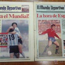 Coleccionismo deportivo: 13 PERIODICOS EL MUNDO DEPORTIVOAÑO 1990 EL MUNDIAL DE ITALIA 1990.. Lote 54257499