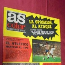 Coleccionismo deportivo: AS COLOR. Nº 295. 11 ENERO 1977. POSTER AGRUPACION DEPORTIVA RAYO VALLECANO.. Lote 54293021