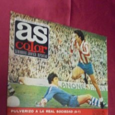 Coleccionismo deportivo: AS COLOR. Nº 299. 8 FEBRERO 1977. POSTER REAL SOCIEDAD .. Lote 54293087