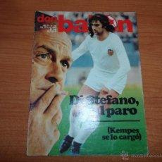 Coleccionismo deportivo: DON BALON Nº 244 1980 PORTADA KEMPES VALENCIA COLOR - ADIOS DE IRIBAR ATHLETIC DE BILBAO - BOTA ORO . Lote 54297074