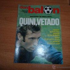 Coleccionismo deportivo: DON BALON Nº 294 1981 REPORTAJE COLOR Y POSTER CENTRAL CASTELLON 81-82 -- QUINI Y MIGUELI BARCELONA. Lote 54338030