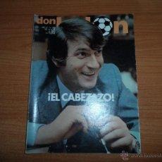 Coleccionismo deportivo: DON BALON Nº 288 1981 REPORTAJE COLOR DIARTE BETIS- ITO SALAMANCA -GILBERTO VALLADOLID. Lote 54338260