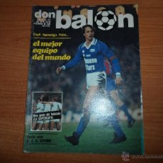 Coleccionismo deportivo: DON BALON Nº 272 POSTER CENTRAL ALINEACION DEL ESPAÑOL -COLOR PORTEROS ATHLETIC BILBAO. Lote 54366891
