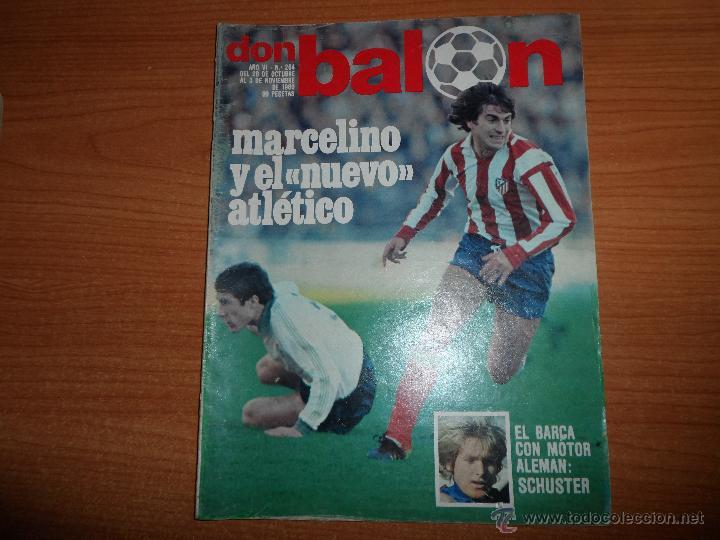 DON BALON Nº 264 1980 COLOR Y POSTER SCHUSTER BARCELONA PABLO VALENCIA MARAÑON Y MARTINEZ ESPAÑOL (Coleccionismo Deportivo - Revistas y Periódicos - Don Balón)