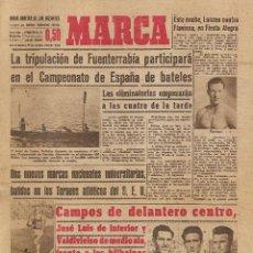 Coleccionismo deportivo: PERIÓDICO DEPORTIVO MARCA, 25 DE OCTUBRE DE 1947, Nº 1.531. Lote 54390574