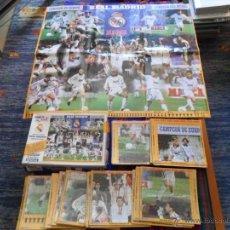 Coleccionismo deportivo: MARCA MEGAPUZZLE COMPLETO 2250 PIEZAS REAL MADRID CAMPEÓN EUROPA Y MUNDO 1998. REGALO LISTÓN.. Lote 54411375