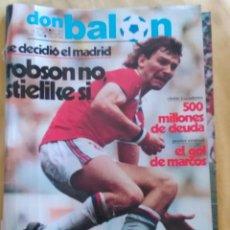 Coleccionismo deportivo: OCASION NINGUNA = EN TC REVISTA DON BALON Nº 401 AÑO 1983 ESPECIAL BARCELONA CAMPEON COPA DEL REY !. Lote 54411751