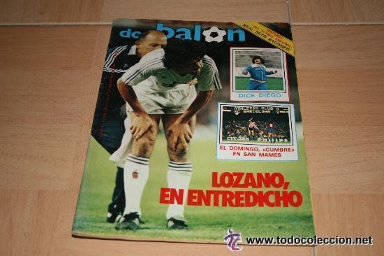 REVISTA DON BALON UNICA EN TC ! Nº 479 1984 FASCICULO Y POSTER REAL BETIS BALOMPIE (Coleccionismo Deportivo - Revistas y Periódicos - Don Balón)