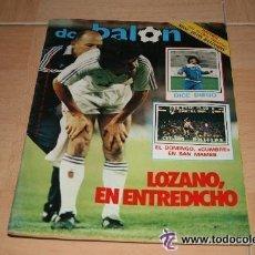Coleccionismo deportivo: REVISTA DON BALON UNICA EN TC ! Nº 479 1984 FASCICULO Y POSTER REAL BETIS BALOMPIE. Lote 54412046