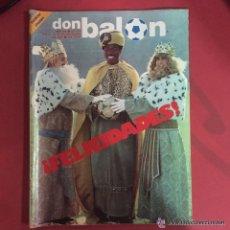 Coleccionismo deportivo: OCASION COLECCIONISTAS UNICA EN TC DON BALON Nº 376 1982 FELICIDADES GANGA. Lote 102586335