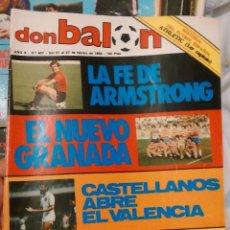 Coleccionismo deportivo: OCASION UNICA EN TODOCOLECCION REVISTA DON BALON Nº 437 1984 FASCICULO ATHLETIC BILBAO. Lote 54412182