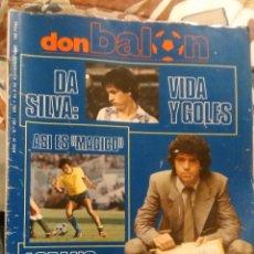 Coleccionismo deportivo: OCASION UNICA COLECCIONISTAS REVISTA DON BALON UNICA TC Nº 421 1983 MAGICO GONZALEZ ESCANDALO M´86. Lote 143300866