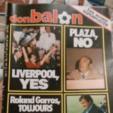 Coleccionismo deportivo: OCASION UNICA COLECCIONISTAS REVISTA DON BALON UNICA EN TC ! Nº 452 1984 LIVERPOOL. Lote 58508905