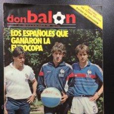 Coleccionismo deportivo: OCASION UNICA REVISTA DON BALON UNICA EN TC ! Nº 457 1984 MARADONA , POSTER Y FASCICULO RACING. Lote 54417241