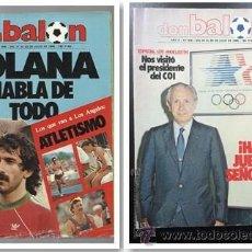 Coleccionismo deportivo: OCASION COLECCIONISTAS 2 REVISTAS DON BALON NUMEROS 457 Y 459 1984. Lote 54417429