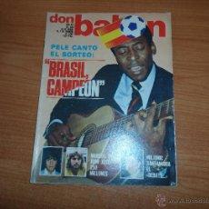 Coleccionismo deportivo: DON BALON Nº 329 1982 REPORTAJE COLOR CAMACHO REAL MADRID JUAN JOSE CADIZ PELE. Lote 54426513