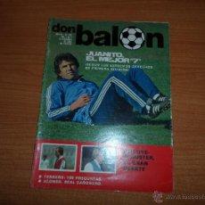 Coleccionismo deportivo: DON BALON Nº 321 1981 COLOR JUANITO REAL MADRID STIELIKE SCHUSTER BARCELONA SEÑOR ZARAGOZA. Lote 54426951