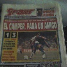 Coleccionismo deportivo: DIARIO SOBRE EL GAMPER 26 AGOSTO 1993. Lote 50955522