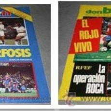 Coleccionismo deportivo: OCASION 2 REVISTAS DON BALON NUMEROS 484 Y 485 1985 CON FASCICULOS ALCOYANO Y MALLORCA. Lote 54514019
