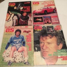 Coleccionismo deportivo: LOTE DE 5 REVISTAS AS COLOR Y AS SEMANAL. AÑO 1989. Lote 42898883
