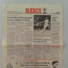 Coleccionismo deportivo: EXTRA BODAS DE ORO DIARIO MARCA 50 ANIVERSARIO , LAS NOTICIAS DE 1940. Lote 54545113