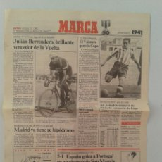 Coleccionismo deportivo: EXTRA BODAS DE ORO DIARIO MARCA 50 ANIVERSARIO , LAS NOTICIAS DE 1941. Lote 54545129