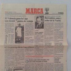 Coleccionismo deportivo: EXTRA BODAS DE ORO DIARIO MARCA 50 ANIVERSARIO , LAS NOTICIAS DE 1942. Lote 54545139