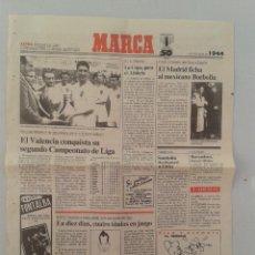 Coleccionismo deportivo: EXTRA BODAS DE ORO DIARIO MARCA 50 ANIVERSARIO , LAS NOTICIAS DE 1944. Lote 54545152