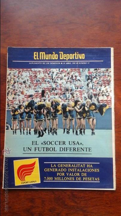 SUPLEMENTO DE LOS DOMINGOS MUNDO DEPORTIVO N° 13 AÑO 1983 (Coleccionismo Deportivo - Revistas y Periódicos - Mundo Deportivo)