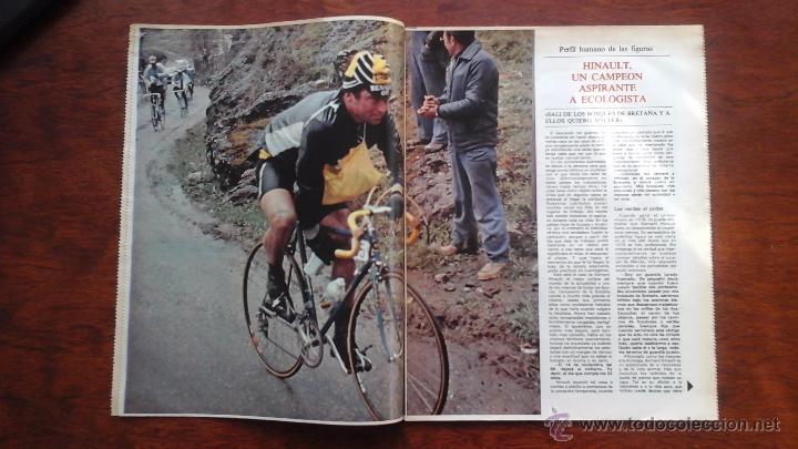 Coleccionismo deportivo: SUPLEMENTO DE LOS DOMINGOS MUNDO DEPORTIVO N° 20 AÑO 1983.HINAULT.CICLISMO - Foto 3 - 54582519