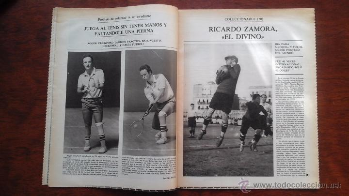 Coleccionismo deportivo: SUPLEMENTO DE LOS DOMINGOS MUNDO DEPORTIVO N° 20 AÑO 1983.HINAULT.CICLISMO - Foto 4 - 54582519