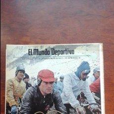 Coleccionismo deportivo: SUPLEMENTO DE LOS DOMINGOS MUNDO DEPORTIVO N° 20 AÑO 1983.HINAULT.CICLISMO. Lote 54582519
