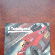 Coleccionismo deportivo: EL MUNDO DEPORTIVO EDICION ESPECIAL AÑO 1988 MUNDIAL DE F1 -EL DESAF1O-. Lote 72034750