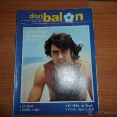 Coleccionismo deportivo: DON BALON Nº 355 1982 PORTADA Y COLOR KEMPES VALENCIA - UEFA SEVILLANA SEVILLA Y BETIS - MARADONA . Lote 54707437