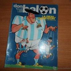 Collezionismo sportivo: DON BALON Nº 342 1982 COLOR REAL SOCIEDAD CAMPEON DE LIGA - RECOPA BARCELONA VS TOTTENHAM. Lote 71193698