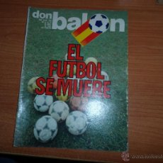 Coleccionismo deportivo: DON BALON Nº 339 1982 REPORTAJE COLOR QUINI Y CRUYFF BARCELONA. Lote 54713596