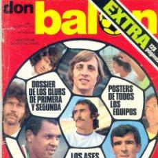 Collectionnisme sportif: DON BALON EXTRA LIGA 1976-77. Lote 173668585