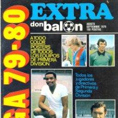 Coleccionismo deportivo: DON BALON EXTRA LIGA 79-80. Lote 54713791