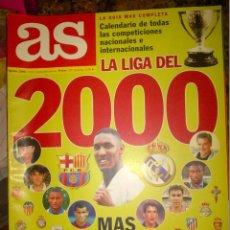Coleccionismo deportivo: AS LA LIGA DEL 2000 MAS ASPIRANTES QUE NUNCA. Lote 54724840