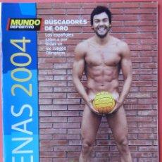 Coleccionismo deportivo: REVISTA GUIA JUEGOS OLIMPICOS ATENAS 2004 MUNDO DEPORTIVO SUPLEMENTO EXTRA JJ00 04 OLIMPIADAS. Lote 54779685
