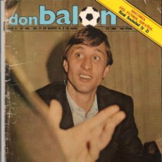 Coleccionismo deportivo: DON BALÓN. Nº 442. CRUYFF, 1984. 2 ABRIL 1984. (P/B30). Lote 54843726
