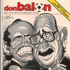 Coleccionismo deportivo: DON BALÓN. Nº 443. ¿EXPROPIADOS!. 9 ABRIL 1984. (P/B30). Lote 54843761