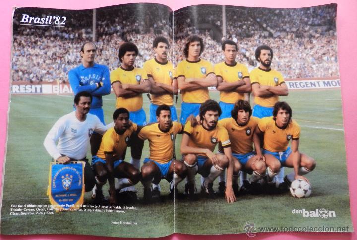 Coleccionismo deportivo: REVISTA DON BALON EXTRA MUNDIAL 1982 Nº 1 ESPAÑA 82 POSTER BRASIL ESPECIAL WORLD CUP M82 WC - Foto 2 - 57773415