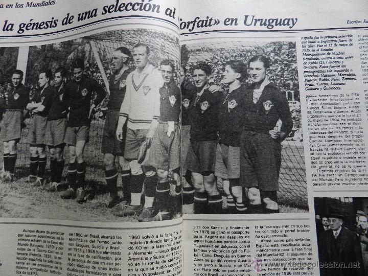 Coleccionismo deportivo: REVISTA DON BALON EXTRA MUNDIAL 1982 Nº 1 ESPAÑA 82 POSTER BRASIL ESPECIAL WORLD CUP M82 WC - Foto 4 - 57773415