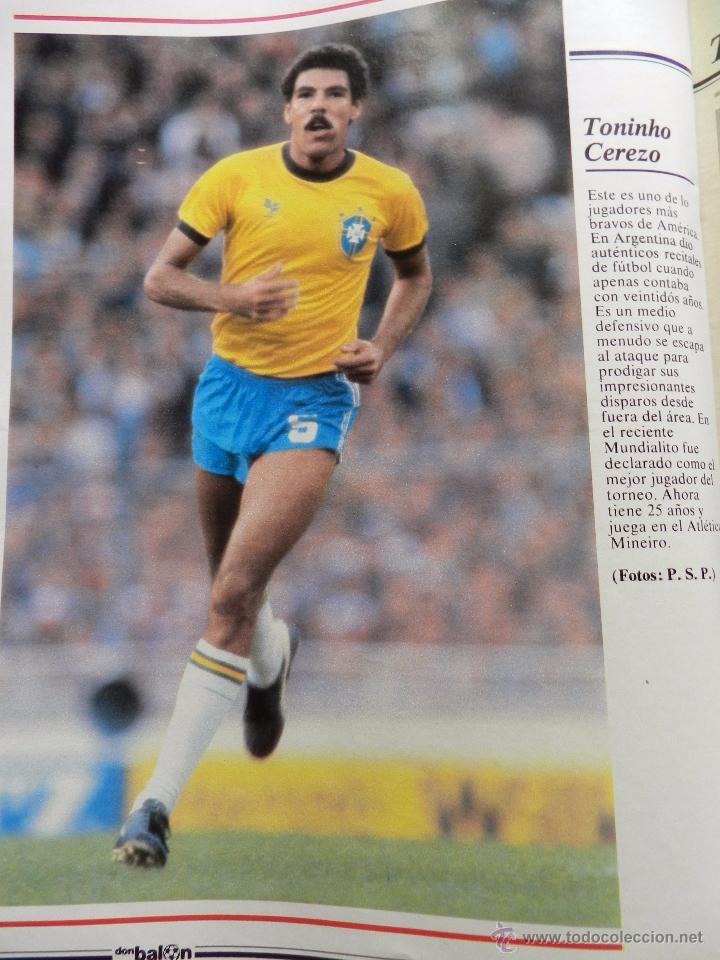 Coleccionismo deportivo: REVISTA DON BALON EXTRA MUNDIAL 1982 Nº 1 ESPAÑA 82 POSTER BRASIL ESPECIAL WORLD CUP M82 WC - Foto 7 - 57773415