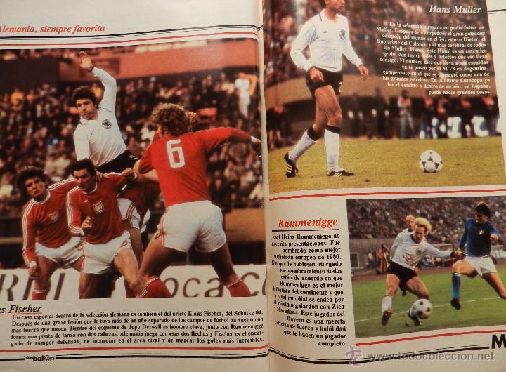 Coleccionismo deportivo: REVISTA DON BALON EXTRA MUNDIAL 1982 Nº 1 ESPAÑA 82 POSTER BRASIL ESPECIAL WORLD CUP M82 WC - Foto 8 - 57773415