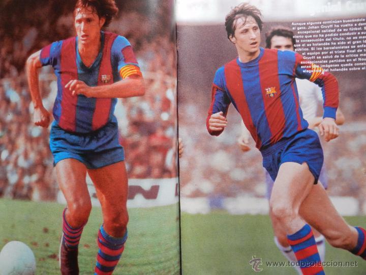 Coleccionismo deportivo: REVISTA DON BALON EXTRA LAS MEJORES FOTOS DEL FUTBOL ESPAÑOL - JUNIO 1977 RESUMEN LIGA 76/77 - Foto 2 - 54910109