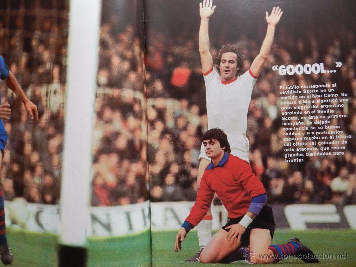 Coleccionismo deportivo: REVISTA DON BALON EXTRA LAS MEJORES FOTOS DEL FUTBOL ESPAÑOL - JUNIO 1977 RESUMEN LIGA 76/77 - Foto 3 - 54910109